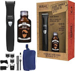 Wahl Beard Trimmer & Beard Oil Gift Set 9865/805