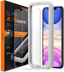 Spigen ALIGNmaster Tempered Glass (iPhone 11)