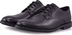 Clarks Ronnie Walk Black Leather