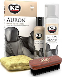 K2 Car Care Auron Leather Clean & Care Set