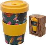 Exotic Toucan Bamboo Coffee Cup