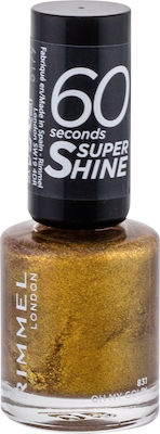 Rimmel 60 Seconds Super Shine Nail Polish 831 Oh My Gold!