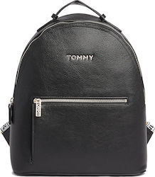 Tommy Hilfiger Τσάντα Πλάτης Δερματίνης Iconic AW0AW08106-BDS Black