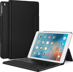 "Bluetooth Keyboard Case Flip Cover Μαύρο (iPad 2017/2018 9.7"")"