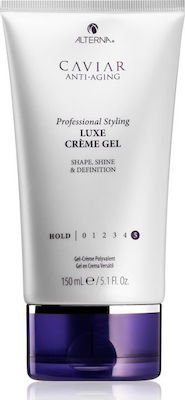 Alterna Caviar Anti-Aging Professional Styling Luxe Creme Gel 5 Hold Shape, Shine & Definition 150ml