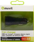 Muvit Charger Qualcomm 2.0 Black
