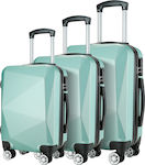 Βαλίτσα Showkoo Tiffany HT3755-TB Set 3x Blue