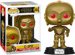 Pop! Movies: Star Wars: The Rise of Skywlaker - Metallic C-3PO (Red Eyes) #360