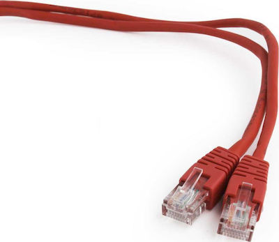 NG U/UTP Cat.5e Cable 2m Κόκκινο (NG-UT02-RED)