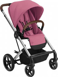 Cybex Balios S Lux Silver Frame Seat Magnolia Pink Gold Edition