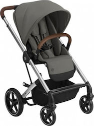 Cybex Balios S Lux Silver Frame Seat Soho Grey Gold Edition