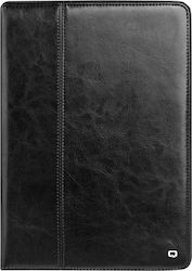 Qialino Genuine Leather Flip Cover Μαύρο (iPad mini 1,2,3)