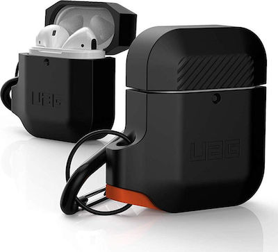 UAG Silicone Case For Airpods Μαύρο/Πορτοκαλί