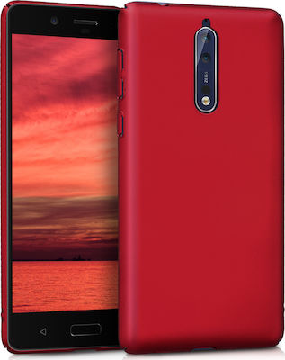 KW Anti-Slip Back Cover Dark Red (Nokia 8)