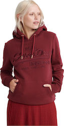 Superdry Vintage Logo Premium Embroidered W2000061A-Q6K Bordeaux
