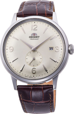Orient Bambino Small Seconds Beige/Brown