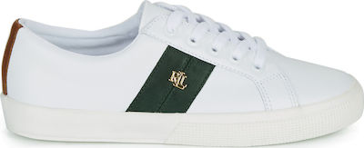 Ralph Lauren Janson II Leather Trainer