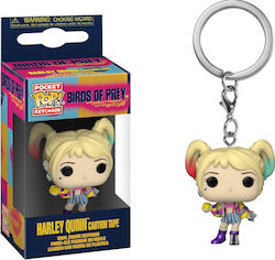 Pocket Pop! Keychain Movies: Birds of Prey - Harley Quinn Caution Tape