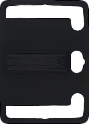 "360 Full Protection Universal Back Cover Μαύρο (Universal 10"")"