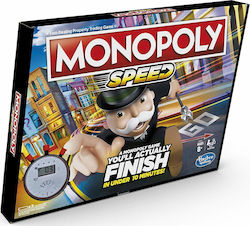 Hasbro Monopoly Speed Board Game