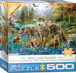 XL Wolf Lake Fantasy by Jan Patrick 500pcs (6500-5360) Eurographics