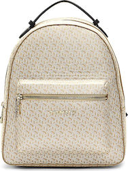 Tommy Hilfiger Τσάντα Πλάτης Iconic Tommy Backpack Monogram AW0AW07926-0F7 Beige
