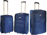 Explorer Luggage 14402-4 Set x3 Navy