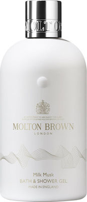 Molton Brown Milk Musk Bath and Shower Gel 300ml
