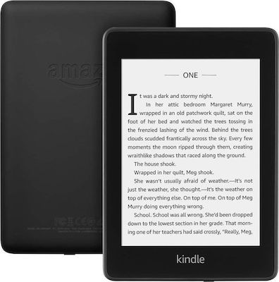 """Amazon Kindle Paperwhite (with ads) 6"""" (8GB) Μαύρο"""