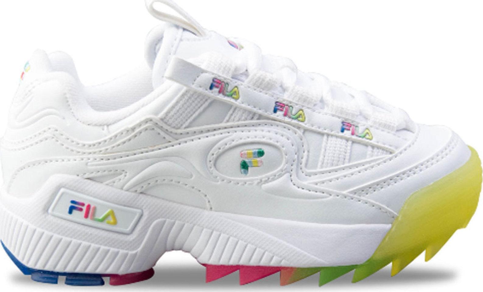 Αθλητικά Παιδικά Παπούτσια Fila Λευκά Skroutz.gr