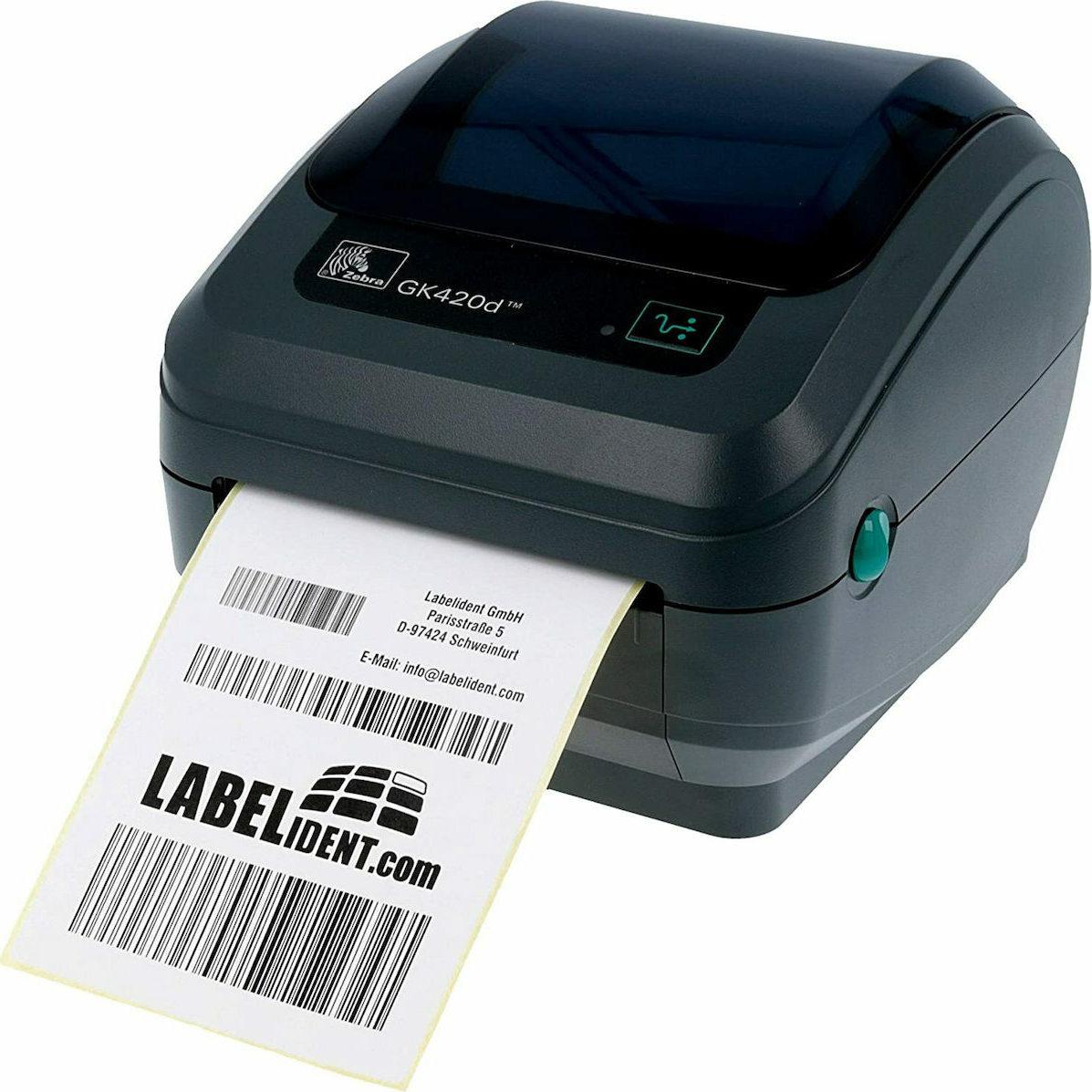 Zebra Εκτυπωτής Ετικετών GK420d (GK42-202220-000) - Πληρωμή και σε έως 36 Δόσεις!!!