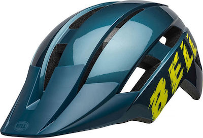 Bell Sidetrack II Buzz Gloss Blue/Hi-Viz