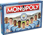Winning Moves Monopoly Manchester City FC