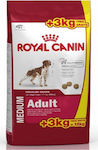 Royal Canin Medium Adult 15kg + 3kg