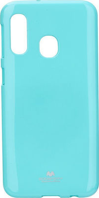 Mercury Jelly Back Cover Mint (Galaxy A20e)