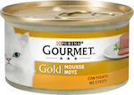 Purina Gourmet Gold Συκώτι Mousse 85gr 24τμχ