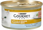 Purina Gourmet Gold Mousse Ψάρια 85gr 24τμχ