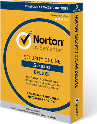 Symantec Norton Security Deluxe 3.0 (5 Licences , 3 Year)