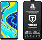 Idol 1991 Titanium Semi Curved Tempered Glass (Redmi Note 9S)