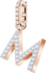 Swarovski Remix Collection Charm White Rose-Gold Tone Plated