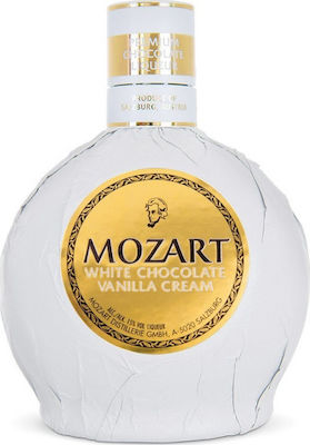 Mozart White Chocolate Vanilla Cream Λικέρ 700ml