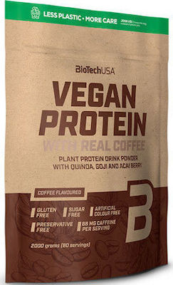 Biotech USA Vegan Protein 2000gr Coffee