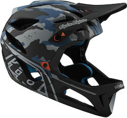 Troy Lee Designs Stage Mips 11524900 Camo Light Blue