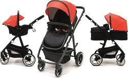 Asalvo Trio Convertible Two+ 3 in 1 Red