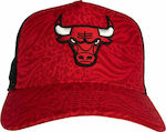 New Era Chicago Bulls All Over Print 12380782 Red