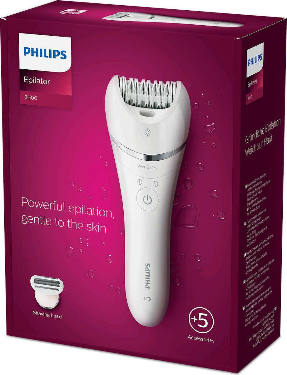 Philips Wet & Dry Epilator  (BRE710/00) - Πληρωμή και σε έως 36 Δόσεις!!!