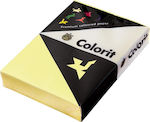 Colorit Yellow 80gr/m² A4 500 φύλλα