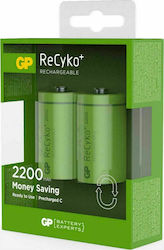 GP Batteries ReCyko C 3000mAh (2τμχ)