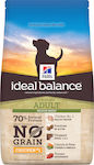 Hill's Ideal Balance No Grain Chicken & Potato Adult Medium Breed 12kg