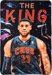 Stamion Κουβέρτα Fleece LeBron James 100x140cm